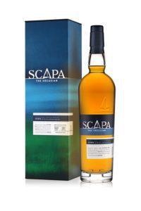 Scapa Skiren Single Malt Whisky, Flasche und Verpackung