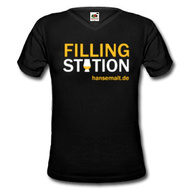 "Hansemalt Whisky-Shirt ""Filling Station"""