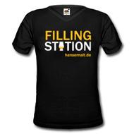"""Hansemalt Whisky-Shirt """"Filling Station"""""""