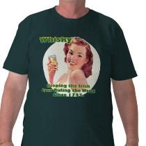 Zazzle Whisky-Shirt Ireland